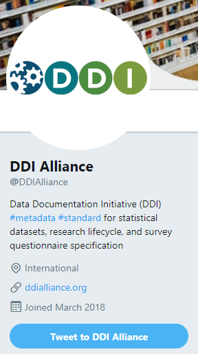 DDI Alliance Twitter Account