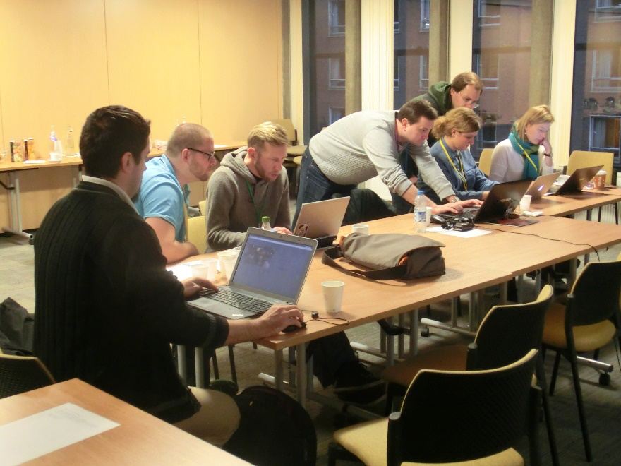 Participants in the tutorial on Working with the STARDAT  DDI-Lifecycle Library