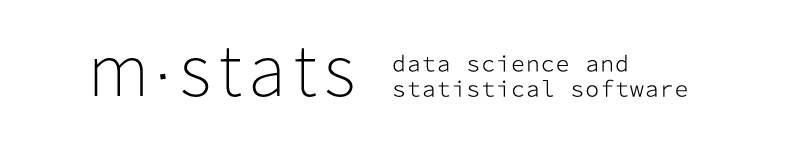 mStats DS Data Science and Statistical Software