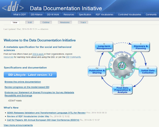 DDI Alliance website