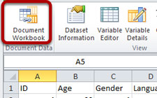 Colectica for Microsoft Excel