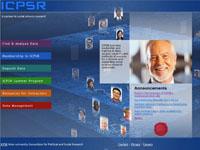 I C P S R website in 2012