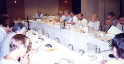 The ICPSR Council meets in July 1988