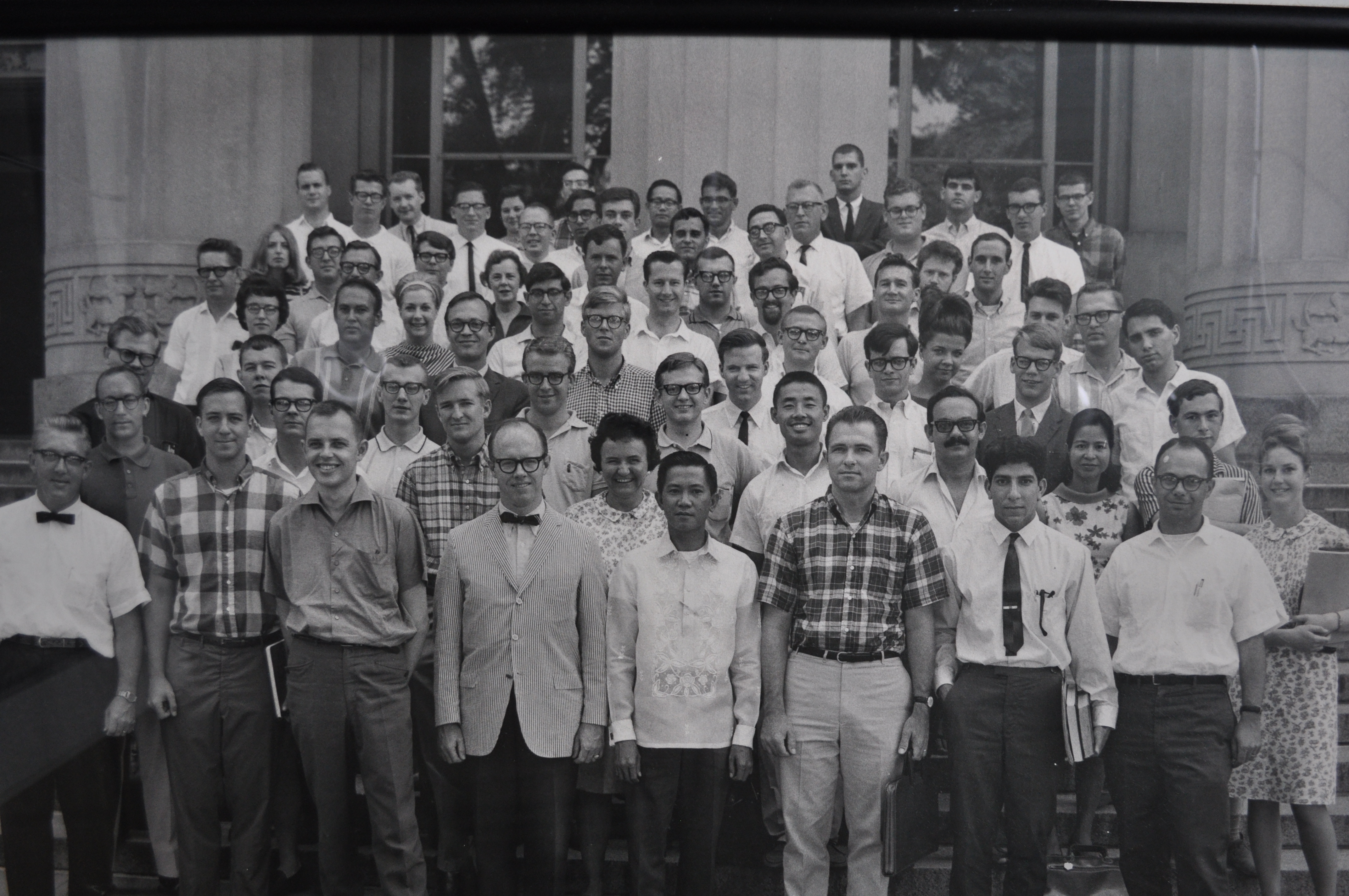 Photo of instructors and participants in the first ICPSR Summer Program, 1963