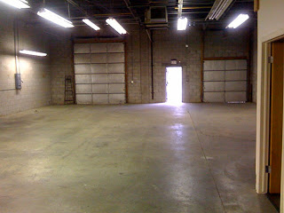 photo of an empty warehouse