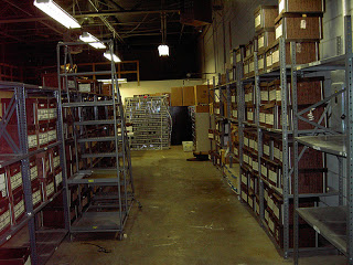 photo of a full warehouse