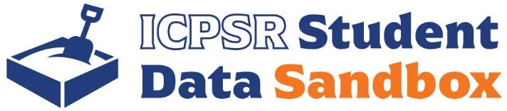 ICPSR Student Data Sandbox